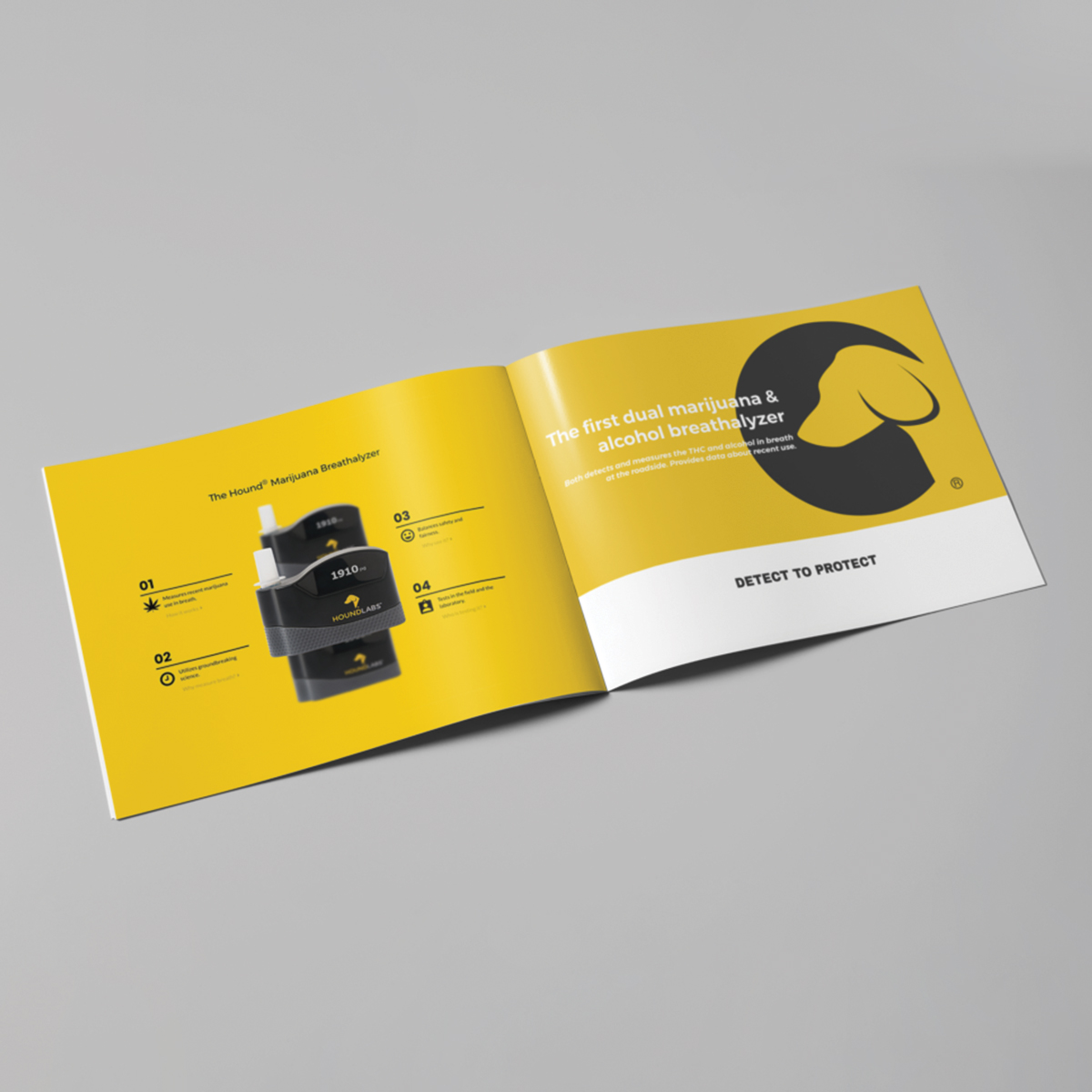 a fourth pic of brand implementation for tech company