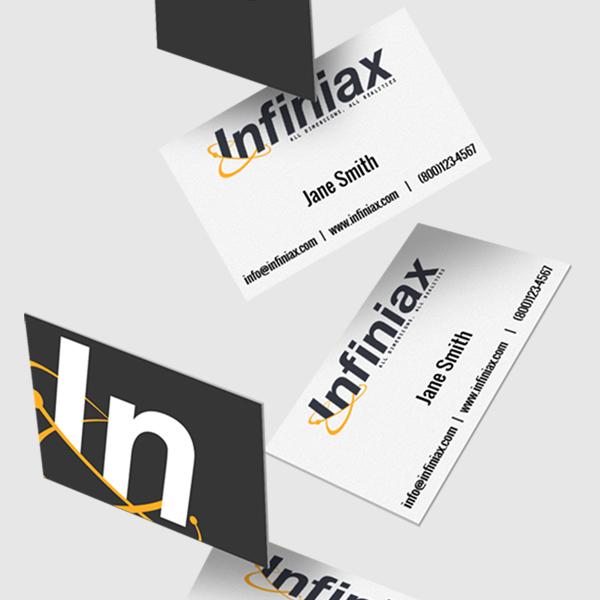 Infiniax Business Card Design