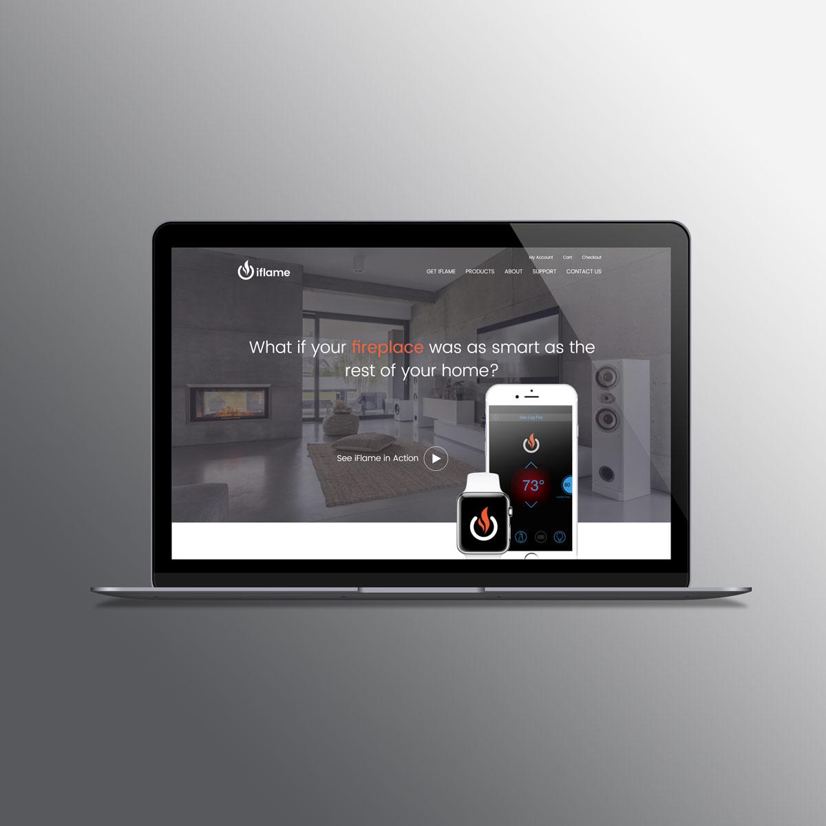 iFlame_website-laptop