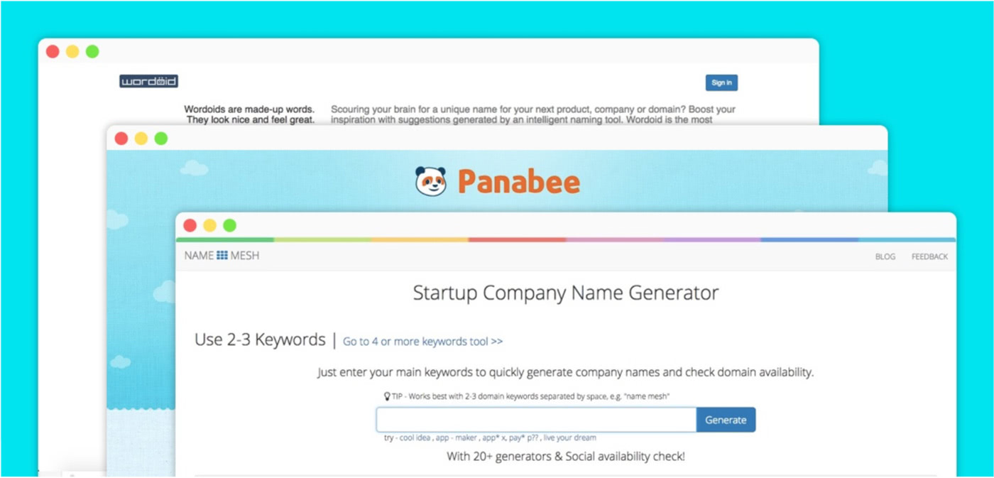brand development strategy tools that generate company names